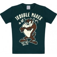 Looney Tunes Trouble Maker T-Shirt Barn Svart