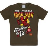 Marvel Iron Man T-Shirt Barn Brun