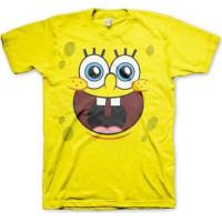 SvampBob Fyrkant Ansikte T-Shirt
