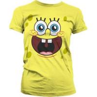 SvampBob Fyrkant Lycklig Dam T-Shirt