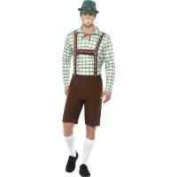 Alpinsk Bavarisk Maskeraddräkt Oktoberfest
