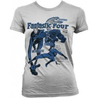 Fantastic Four Dammodell T-Shirt