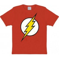 The Flash Logo T-Shirt Barn Röd
