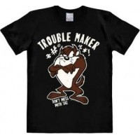 Looney Tunes Trouble Maker T-Shirt Svart
