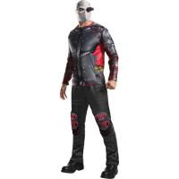 Deadshot Maskeraddräkt Vuxen
