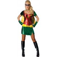 DC Comics Robin Maskeraddräkt Dam