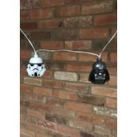 Star Wars 3D Ljusslinga Stormtrooper & Darth Vader