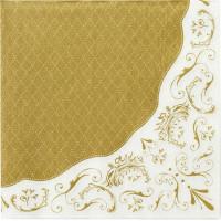 Servetter Elegant Guld 20-pack