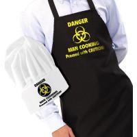 Förkläde och Kockmössa - Danger Man Cooking