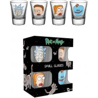 Rick & Morty Shotglas 4st