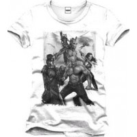 Guardians of the Galaxy- t-shirt svart och vit