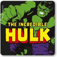 Marvel Hulken Drinkunderlägg Svart 6-pack
