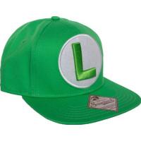 Nintendo Luigi Logo Keps