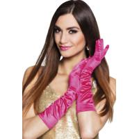 Långa Handskar Rosa