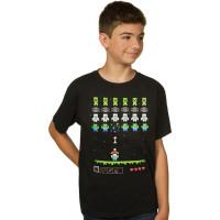 Minecraft Invaders Barn T-shirt