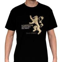 GoT Lannister T-Shirt Svart