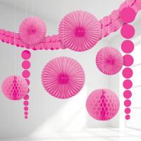 Dekoration Rosa Kit