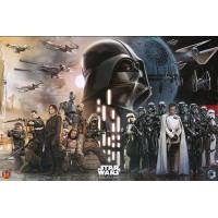 Star Wars Rogue Poster Rebels vs Empire 61x91cm