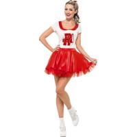 Sandy Grease Cheerleader Maskeraddräkt