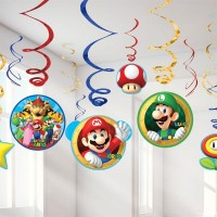 Dekoration Kit Super Mario 12-pack