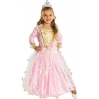 Rosa Prinsessa Maskeraddräkt Barn