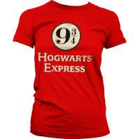 Harry Potter Hogwarts Express Dam T-shirt